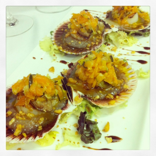 Algunos platos de los que tenemos en la carta del restaurante La Llotgeta de Godella
